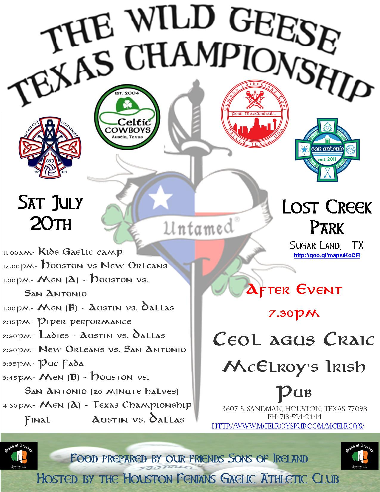 Houston TDL Finals 2013 Poster