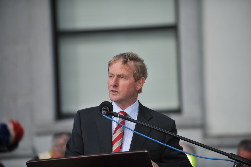 Taoiseach delivers his commemoration speech