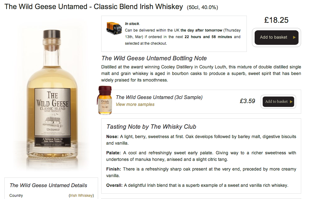 The-Wild-Geese-Classic-Blend-Untamed-Times-Whisky-Club